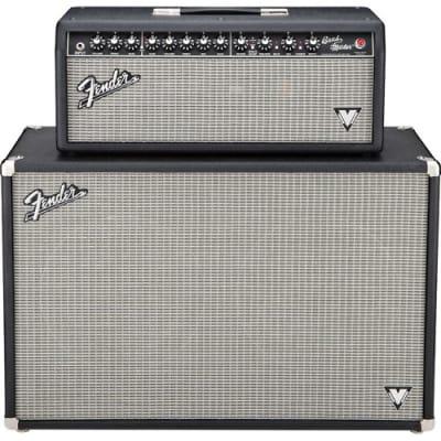 "Fender Band-Master VM Vintage Modified 2-Channel 40-Watt 2x12"" Guitar Amp Half Stack 2009 - 2012"