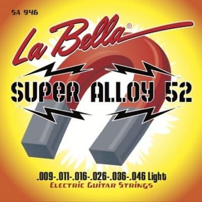 La Bella SA 946 Super Alloy 52 Light 9-46 Electric Guitar Strings
