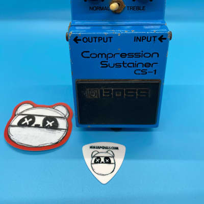 Boss CS-1 Compression Sustainer | Rare (Black Label) Made in Japan | Fast Shipping!