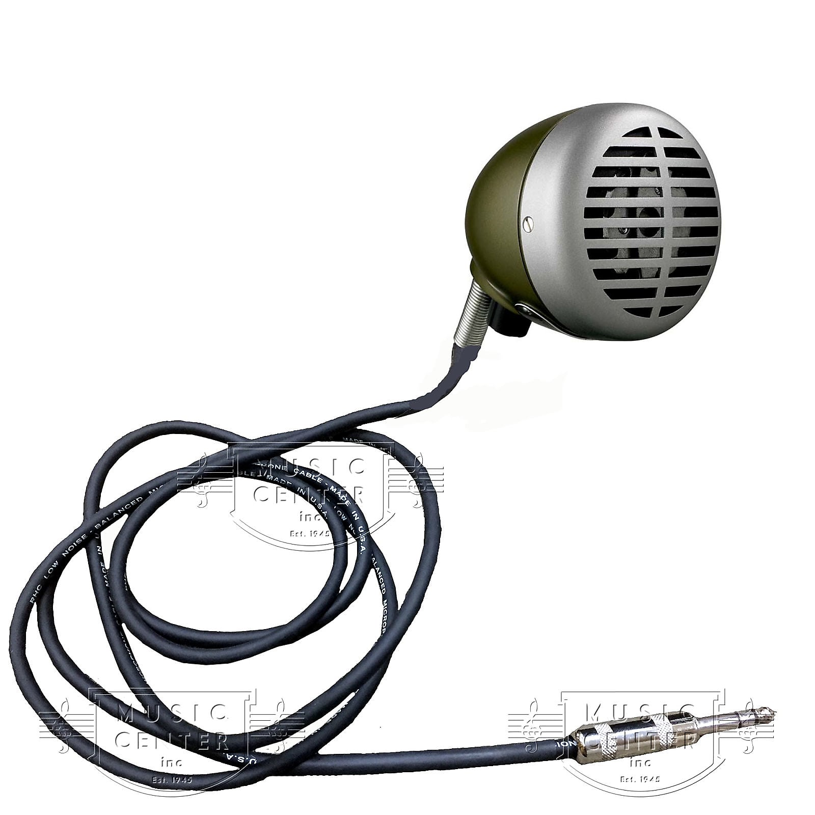 "Shure 520DX ""Green Bullet"" Harmonica Microphone"