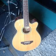 J.B. PlAYER Acoustic / Electric Bass Guitar model JBEAB-3500-N M.I.Korea for sale