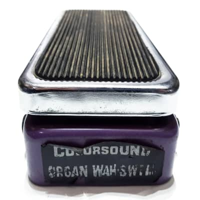 Vintage Colorsound Organ Wah Swell Original Sola Sound Guitar Pedal for sale