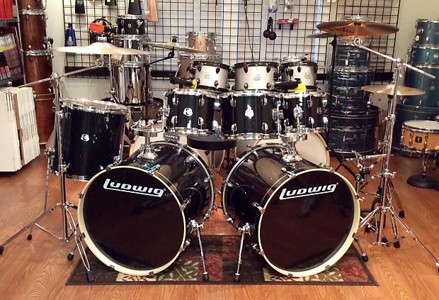 Ludwig Element Evolution 7 Piece Double Bass Drum Set 2018