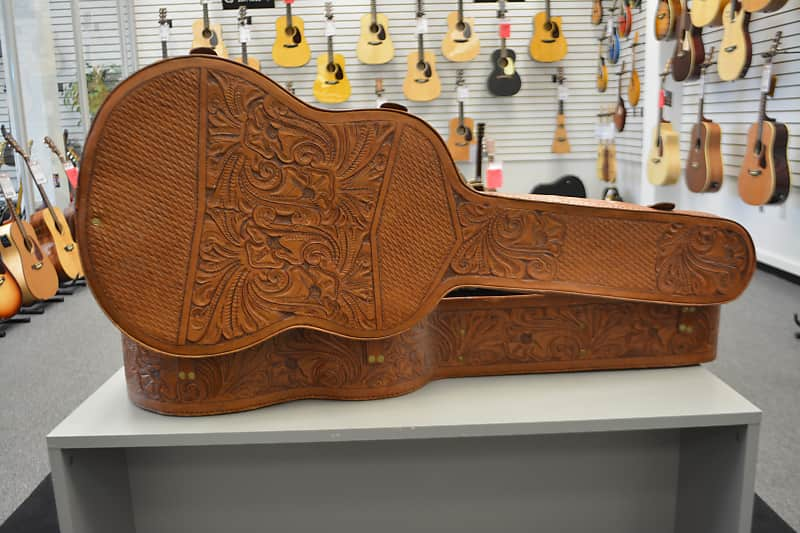 Leather Guitar Case - Used