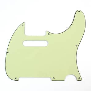 Replacement Guitar Pickguard For G&L ASAT Classic USA ,3ply Vintage Mint Green