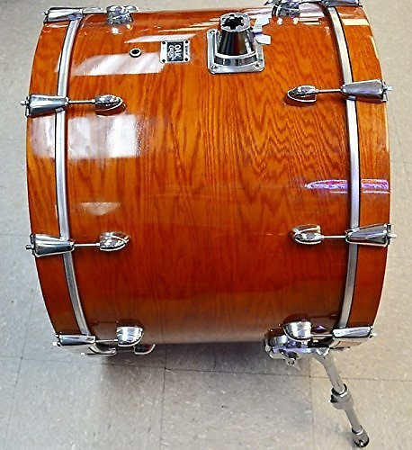 yamaha oak custom 24 kick bass drum honey amber reverb. Black Bedroom Furniture Sets. Home Design Ideas