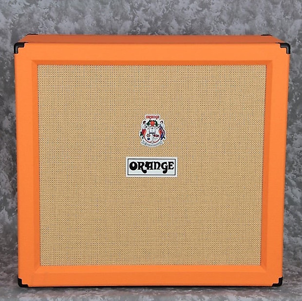 Orange PPC412 4x12 240-Watt Guitar Speaker Cabinet, Orange | Reverb