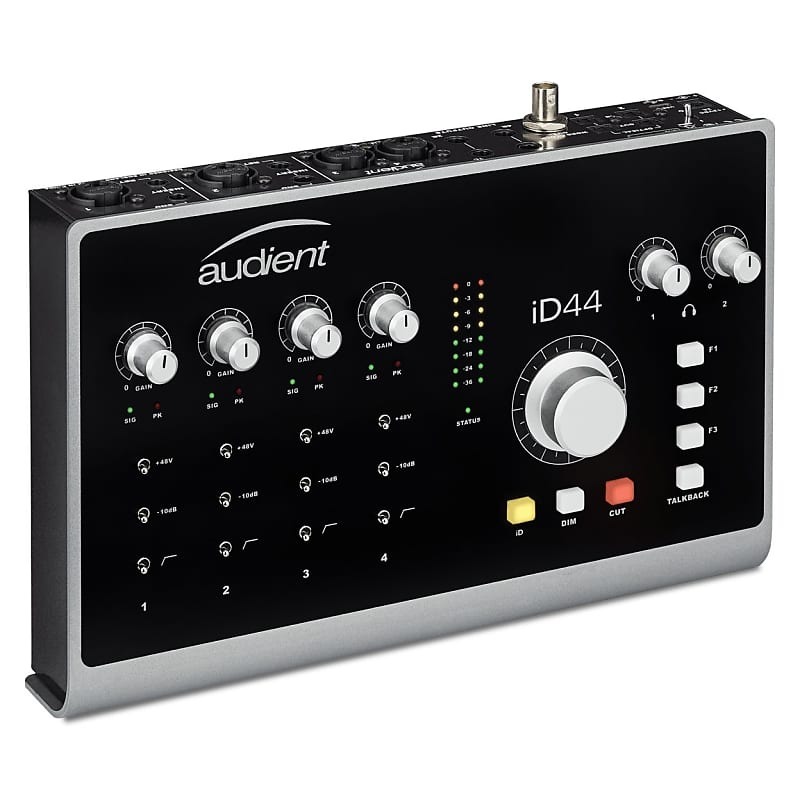 Audient iD44 Desktop USB Audio Interface | Pro Audio Design