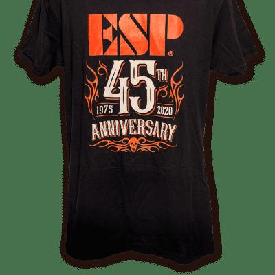 ESP 45th Anniversary Tee Black/Orange M