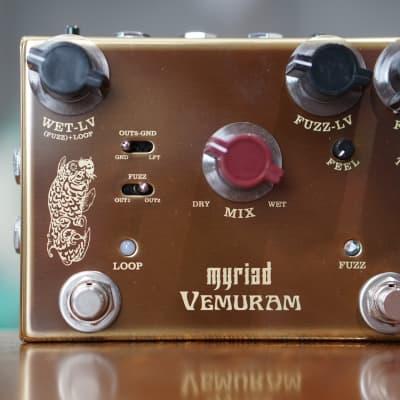 """Vemuram Myriad """"Big Box"""" Wet / Dry Fuzz"""