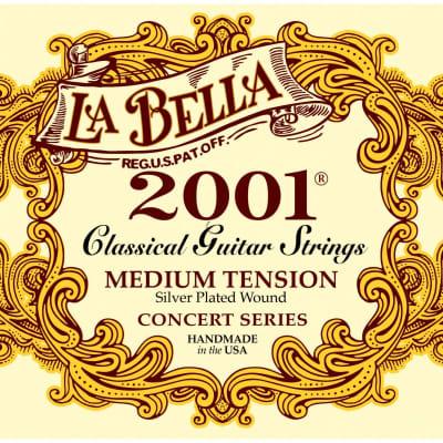 La Bella 2001 Concert Series Medium Tension Classical Guitar Strings