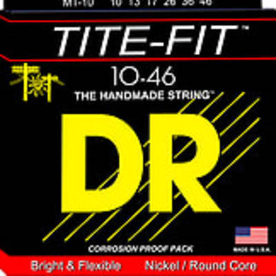 DR TITE-Fit Electric Guitar Strings - 10-46