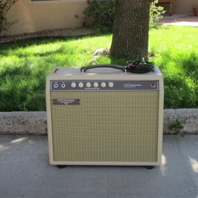 20W Blonde Fenderstyle with Trem CPC-20  Carl's Custom Amps  Video Demo for sale