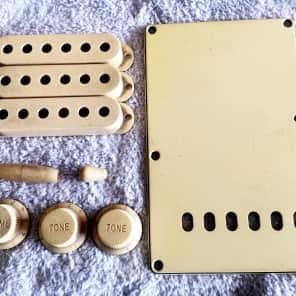 TOG/Real Life Relics accessory kit for fender strat Vintage cream
