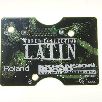 Roland SR-JV80-18 Latin Expansion Board JV-1080 JV-2080 XV-5080 JD-990
