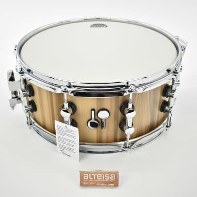 """Sonor SQ2 snare 14""""x6"""" maple 2021 American Walnut  #10117920"""