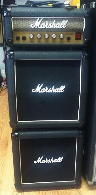 marshall lead 12 mini full stack guitar amplifier reverb. Black Bedroom Furniture Sets. Home Design Ideas