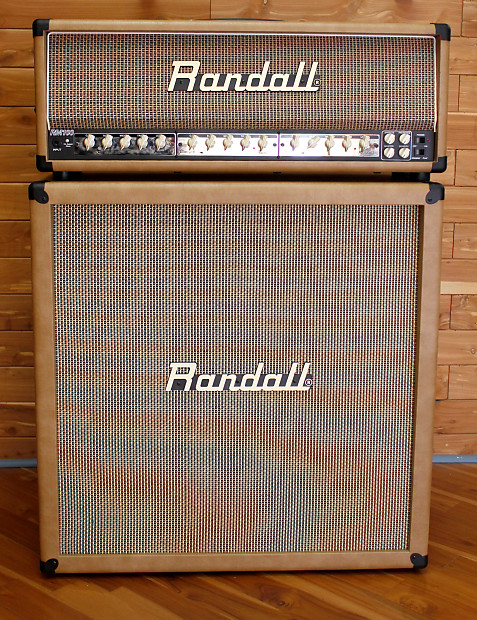 Randall MTS Series RM100P2 100W Guitar Amp Head With Modules U0026 4X12  Matching Cabinet