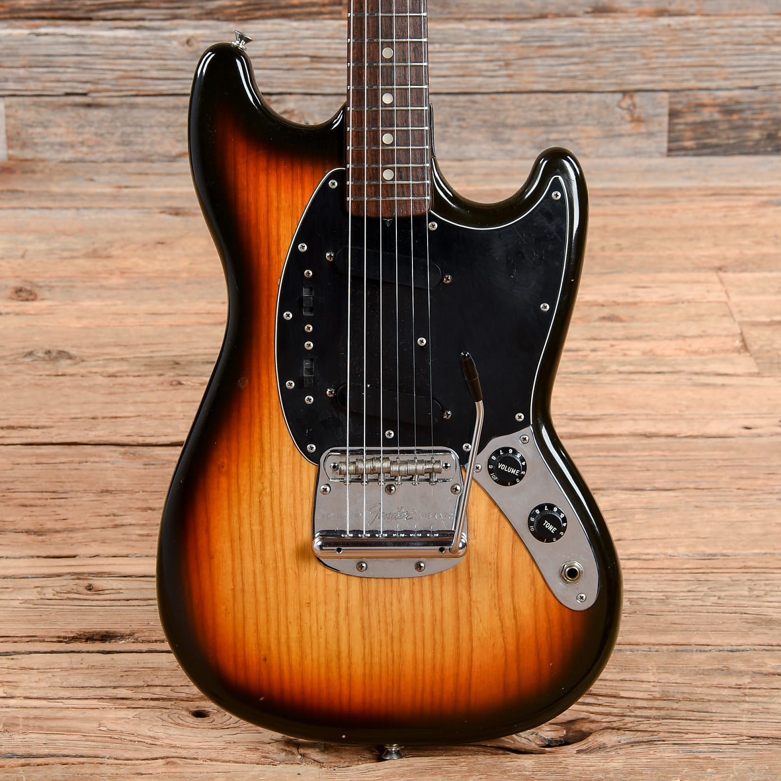 Fender Mustang Sunburst 1979