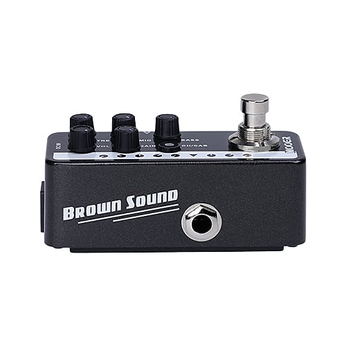 Mooer Micro Preamp 015 Brown Sound based on Peavey 5150 Just Released in stock image