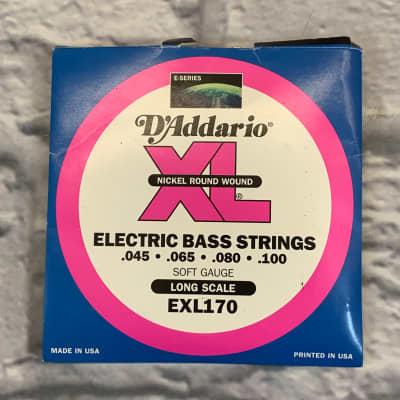 D'Addario EXL170 Soft Gauge 45-100 Bass Strings
