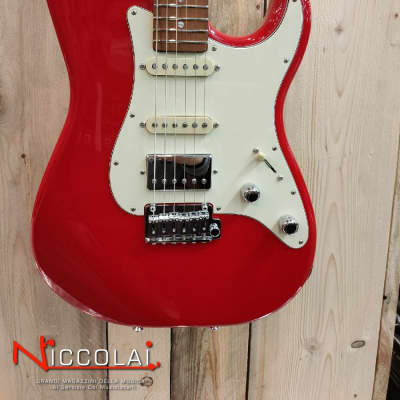 Schecter Traditional Route 66 Santa FE H/S/S Sunset Red for sale