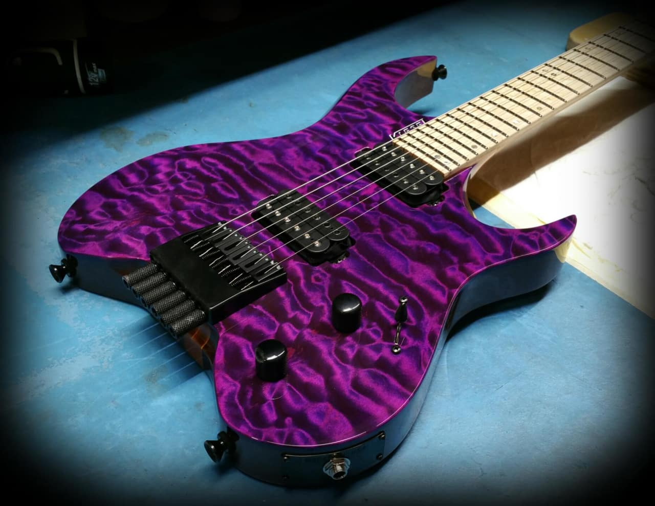 Auto Body Shops >> Kiesel Vader 6 2017 Purple Candy Quilt | Reverb