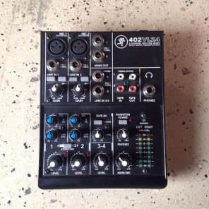 Mackie 402VLZ4 Ultra-Compact 4-Channel Mixer