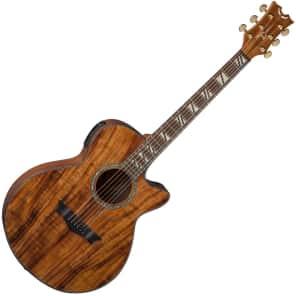 Dean PE Koa Performer Acoustic-Electric Guitar Natural