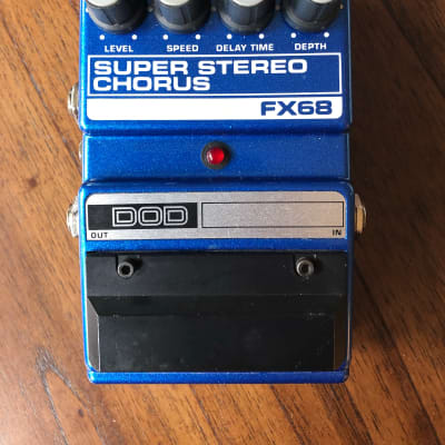 DOD FX68 Super Stereo Chorus (like new in original box) for sale
