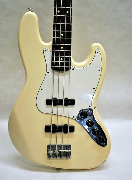 Circuito Jazz Bass : Fender mim jazz bass deluxe 2001 cream reverb