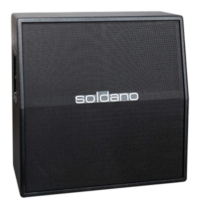 SOLDANO SLANT 4X12 GUITAR AMPLIFIER CABINET - CELESTION V30 for sale