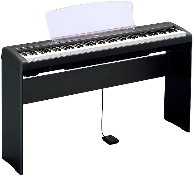 yamaha l85 keyboard stand for yamaha p115b p105b p45b. Black Bedroom Furniture Sets. Home Design Ideas