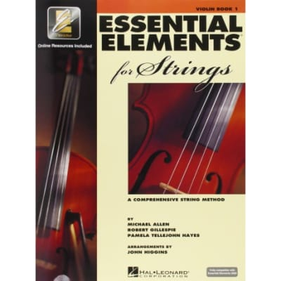 Essential Elements For Strings Method Book 1 with EEi -Bass