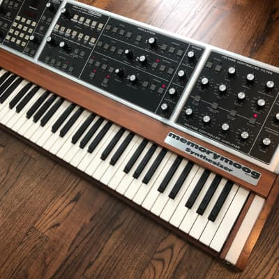 Moog Memorymoog Plus, fully refurbished, oustanding condition
