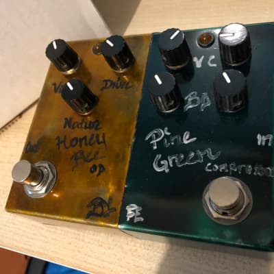 BJFE Dual Pedal Rare! Honey Bee + Pine Green 4K