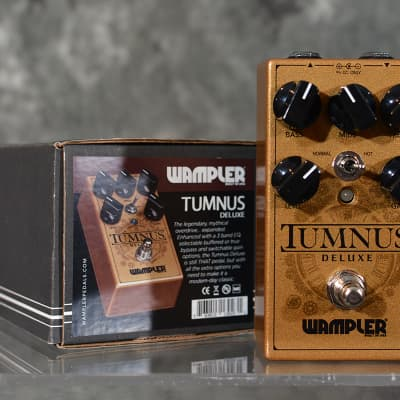 Wampler Tumnus Deluxe Transparent Overdrive Pedal Mint in Box w FAST Same Day Shipping