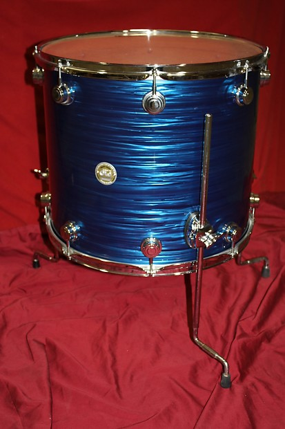 Dw collectors series 18 inch floor tom reverb for 13 inch floor tom