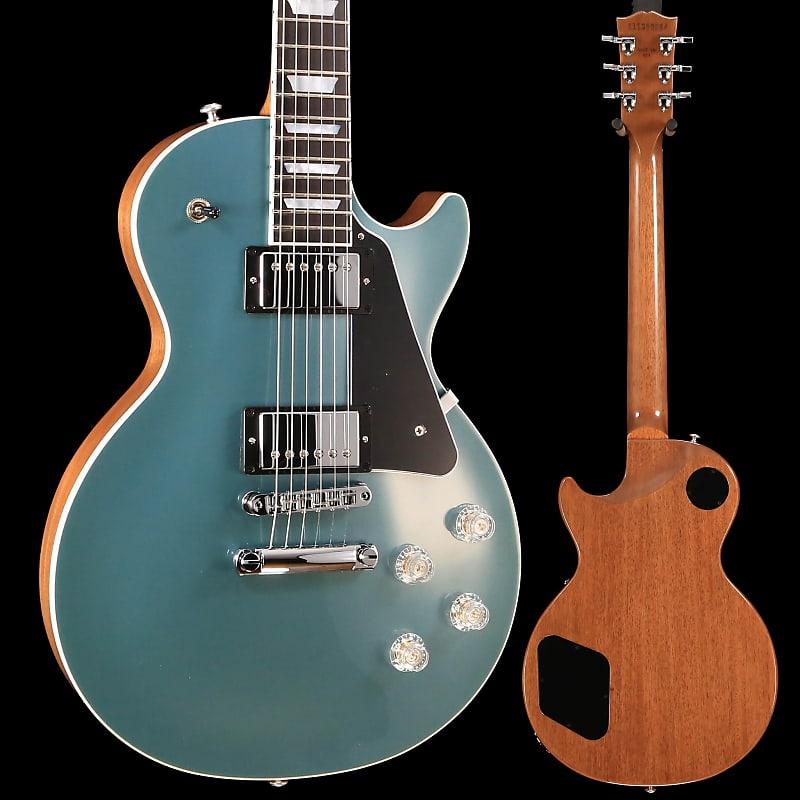 Best Reverb Pedal 2020 Gibson LPM00M3CH1 Les Paul Modern 2020 Faded Pelham Blue Top | Reverb