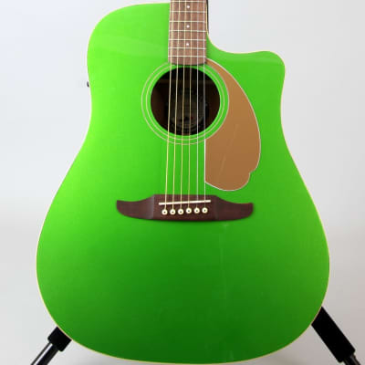 Fender Redondo Player Acoustic-Electric Guitar | Electric Jade for sale