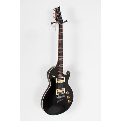 Mitchell MS400 Modern Single-Cutaway Electric Guitar Regular Black for sale