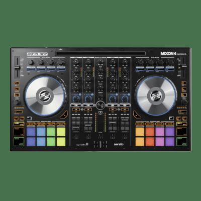 B-Stock Reloop Mixon4 4 Channel Pro DJ Controller for Serato DJ and Algoriddim DJAY / Mixon 4