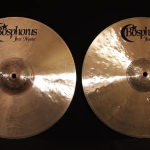 "Bosphorus 14"" Jazz Master Series Hi-Hat Cymbals (Pair)"