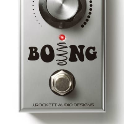 J. Rockett Audio Designs Boing Spring Reverb FREE 2-3 Day Shipping in the U.S. Brand New from Dealer for sale