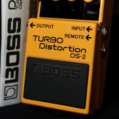 Boss DS-2 Turbo Distortion 2006 s/n SV15783 as used by Prince ( 2012 period ), John Frusciante