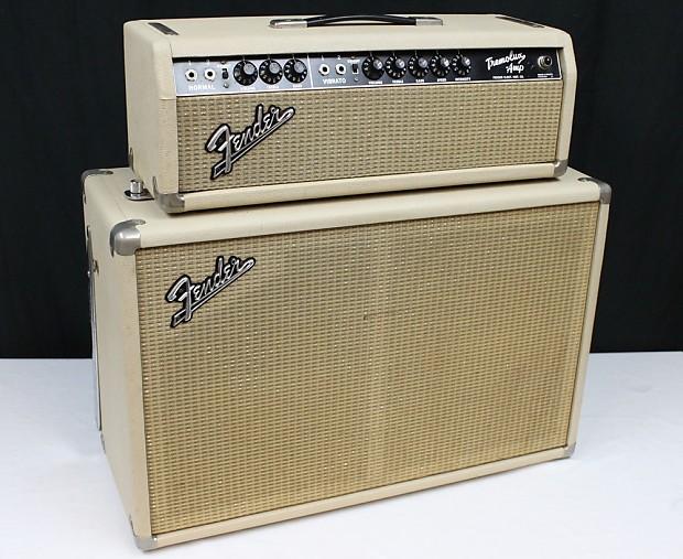 Fender Tremolux Amp Head 2x10 Cab