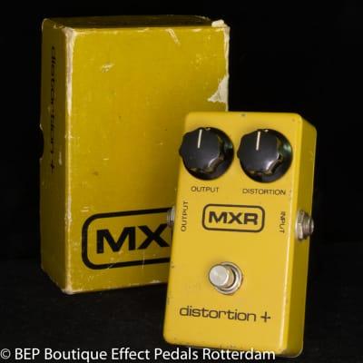 MXR Distortion + 1980 s/n 4-092527 made USA