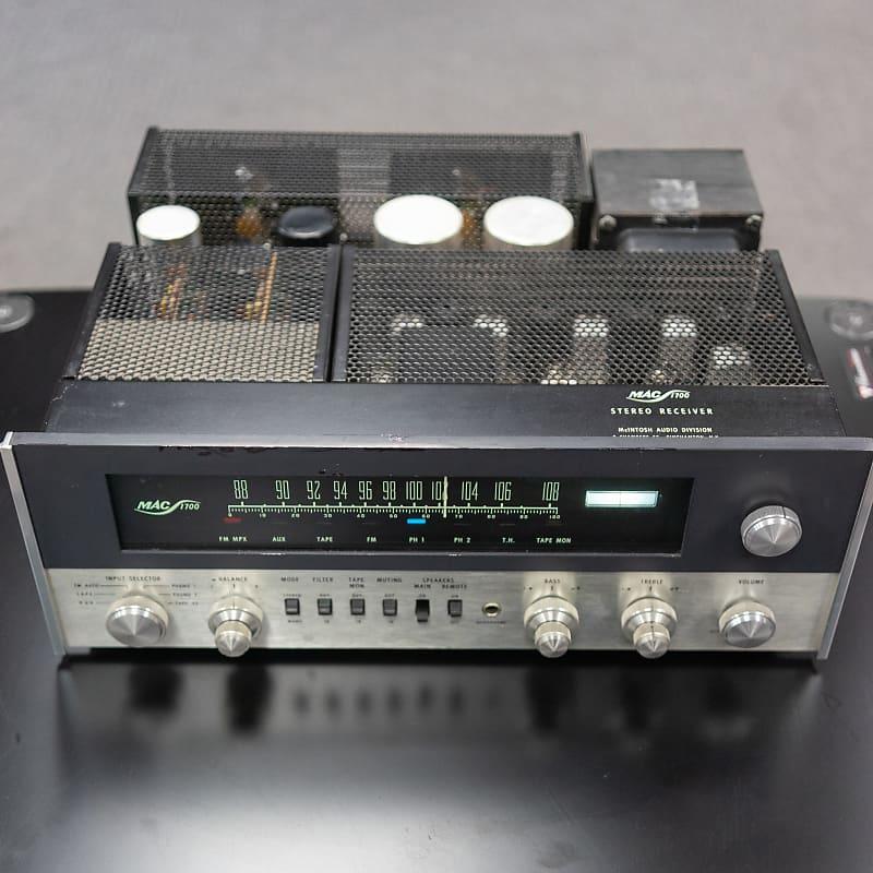 McIntosh MAC1700 40 Watt Per Channel Stereo Receiver w/ LED Upgrade -  Serviced
