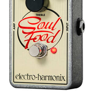 Electro Harmonix Soul Food Distortion Pedal for sale