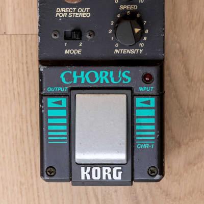 1980s Korg CHR-1 Chorus Vintage Analog Guitar Effects Pedal Japan, Yamaha CH-01 for sale